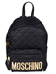 Moschino Women S 7b760882012555 Black Polyester Backpack