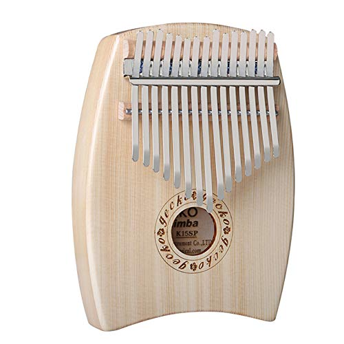 MG.QING 15-Key Kalimba Spruce G-Tone Acoustic Thumb Piano Finger Instrument Gift by MG.QING (Image #3)