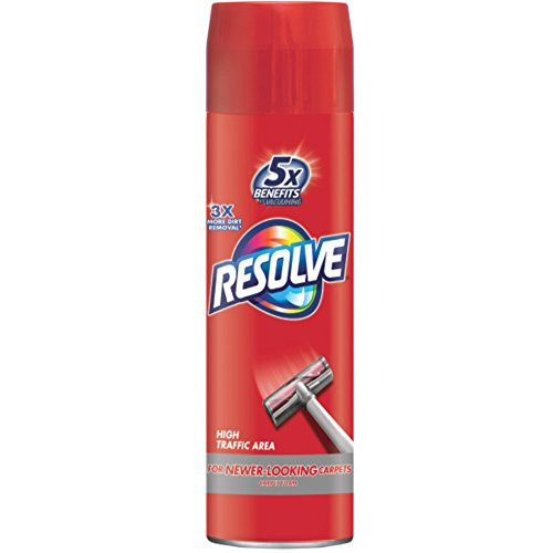 Resolve High Traffic Carpet Foam, 22 oz Can, Cleans Freshens Softens & Removes Stains -