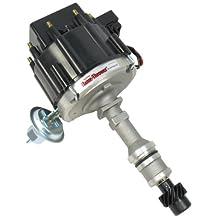 PerTronix D1100 Flame-Thrower Black Cap Distributor HEI for Oldsmobile V8