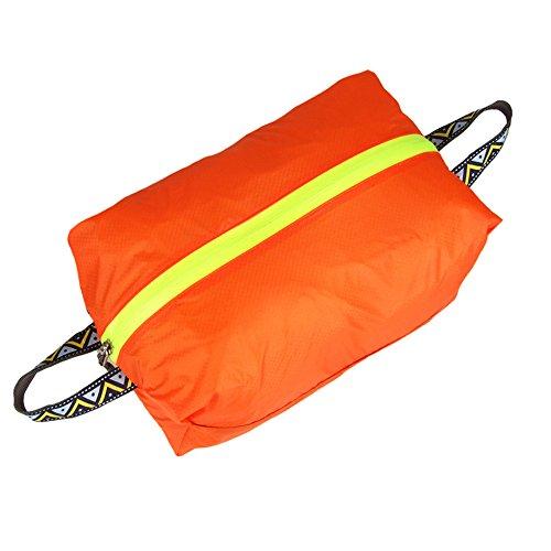 HSL ultra light wasserdichte Tasche schuhe lagerung Tasche fur reisen, kajak fahren, schwimmen, orange, s