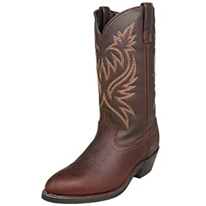 "Laredo Men's 12"""" Trucker Boot,Copper Kettle,13 EW US"