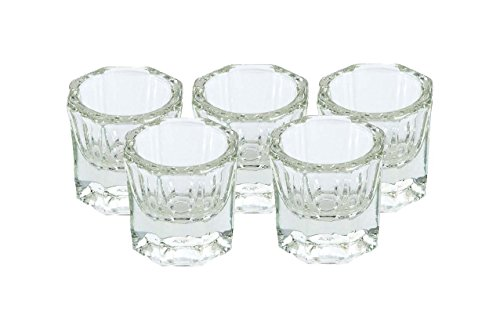 nail art crystal glass cup - 4