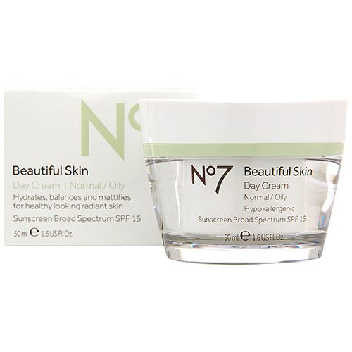 Price comparison product image Boots No7 Beautiful Skin Day Cream SPF 15, 1.6 US Fl 0z - Normal / Oily