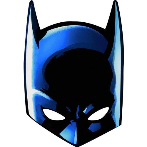 Batman Masks (8 Pack) (Batman Masks)
