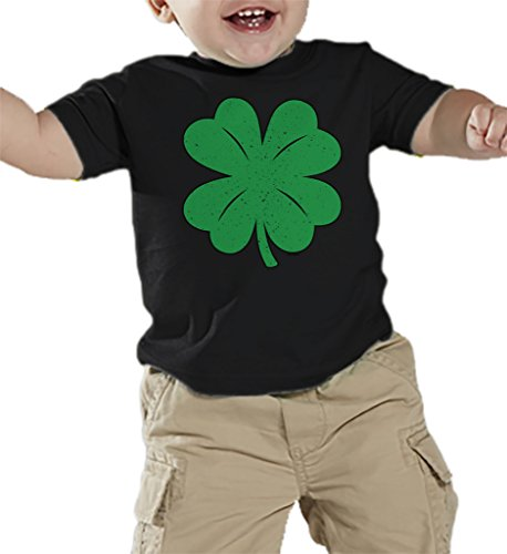 Toddler Infant Green Distressed Shamrock