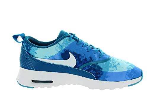 Nike Wmns Air Max Thea Print Damen Sneakers TURQUOISE BLUE/BLACK