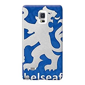 Great Hard Phone Cases For Samsung Galaxy Note 4 (PRx7361gmGg) Customized Vivid Chelsea Fc Skin