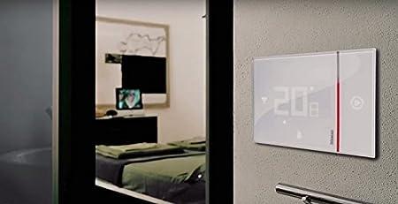 BTicino - Smarther SX8000 Termostato conectado con WiFi integrada, encastrable: Amazon.es: Bricolaje y herramientas
