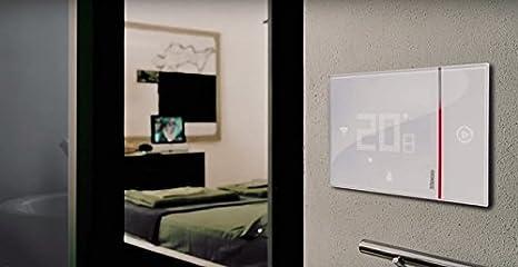 Bticino smarther sx w thermostat avec wifi intégré applique