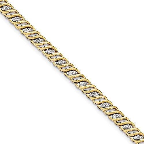 0.5 Ct Diamond Bracelet - 8