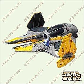 Anakin Skywalkers's Jedi Starfighter Star Wars: Revenge of the Sith 2005 Hallmark Keepsake Ornament QXI6192
