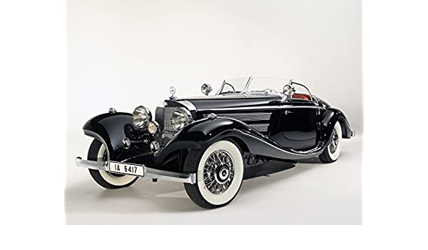 1936 Mercedes Benz 540k Special Roadster 11 X 14 Photo Print