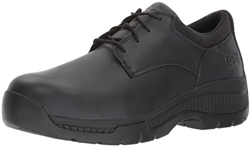 Timberland PRO Men's Valor Duty Soft Toe Oxford Military Tactical Boot, Black Smooth Leather, 13 M US by Timberland PRO