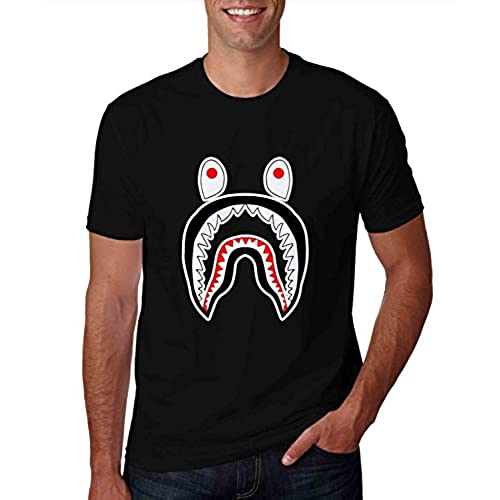 Bape Shark Black Tshirt For Man XL