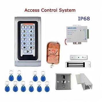 HUM sysd sy5000wr-a caja de metal del equipo del sistema de control de acceso de la puerta impermeable rfid mando a distancia del teclado numérico del ...