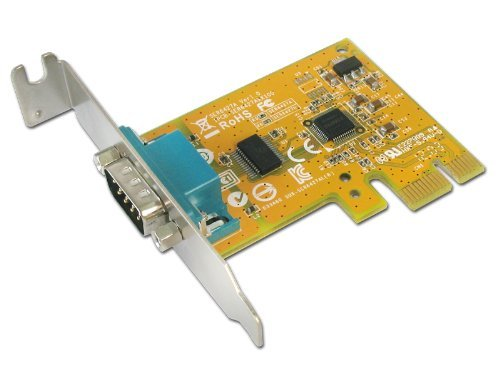 Sunix 1-port RS-232 Serial PCI Express with both Regular Height and Low-Profile Brackets (SER6427A+L)