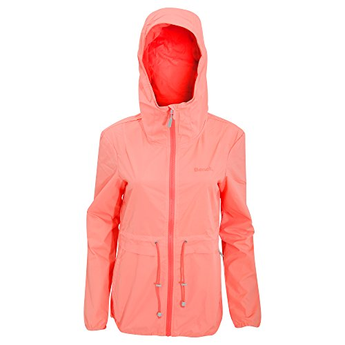 Ligera Bench Impermeable Melocotón Chaqueta Para Mujer Zx8B7