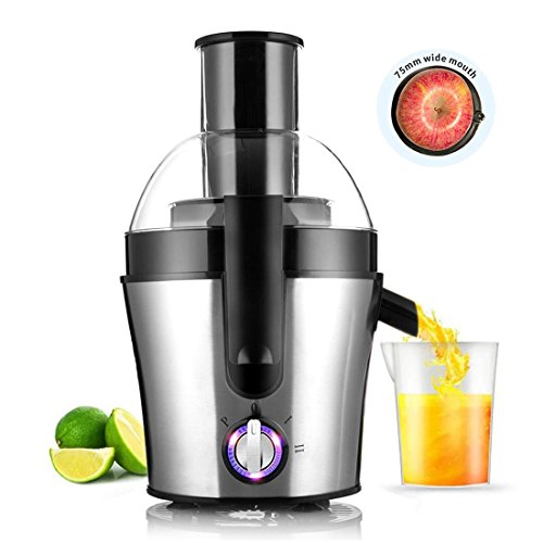 Fruit And Vegetable Juicer Juice Maker Stainless Steel Three Speed Centrifugal Juicer Extractor 300 Watt by Aodel