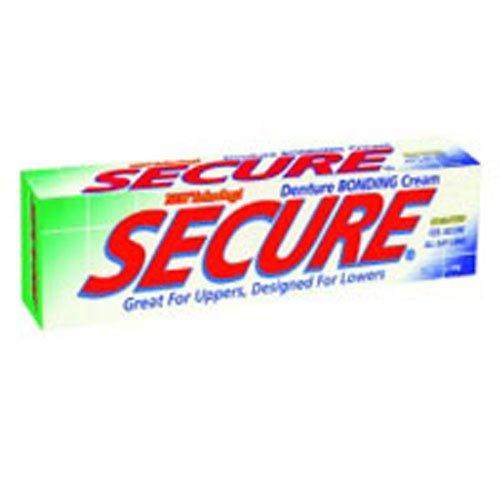 Secure Denture Waterproof Adhesive 1.40 oz (Pack of 6)