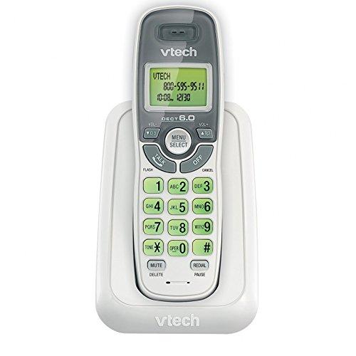 Landline Phone Handset, Vtech Cs6114 Single Home Phone Cordless Handset, White
