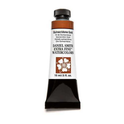 Price comparison product image Daniel Smith Extra Fine Watercolor 15ml Paint Tube, Quinacridone, Gold