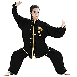 1. We have many different Chinese Kung fu Unifroms/Clothes with traditional Styles2. This Tai Chi Uniform has nice colored border, suitbale for martial arts Fans3. Please use cold washing for this unifrom, do not use hot water to wash it.4. When you ...