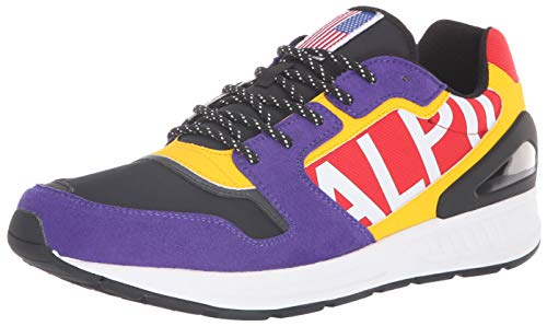 Polo Ralph Lauren Men's TRAIN100 Sneaker, Chalet Purple/Multi, for sale  Delivered anywhere in USA
