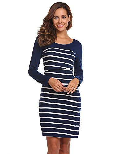 breastfeeding maternity dresses - 5