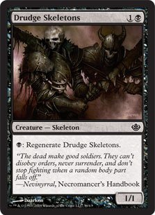 Magic: the Gathering - Drudge Skeletons - Duel Decks: Garruk vs Liliana