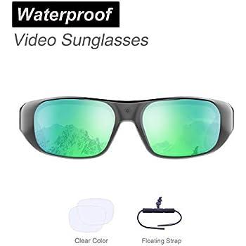 8d00d5f0f45 Amazon.com   Waterproof Video Sunglasses