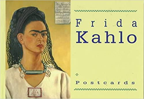 frida kahlo postcard book collectible postcards