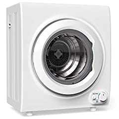 Make quick work of your laundry when you add the hOmeLabs Compact Electric Front Load Dryer to your home. The sleek and modern design coordinates perfectly with any household appliances, and the compact size makes ideal for apartments, dorms,...