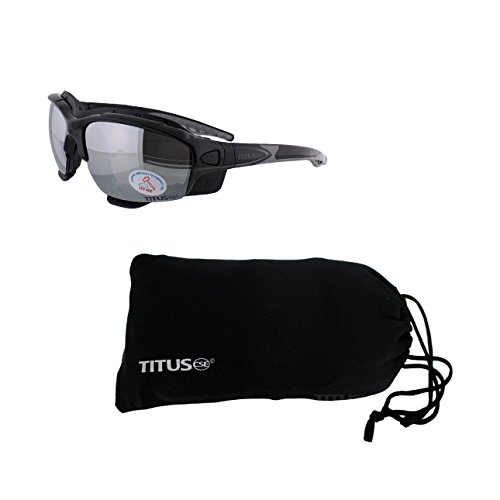 Titus G11 Motocross Z87 EN166 Rated Interchangeable Motorcycle Goggles (Mirrored w/ - Rage Coupon Sunglass