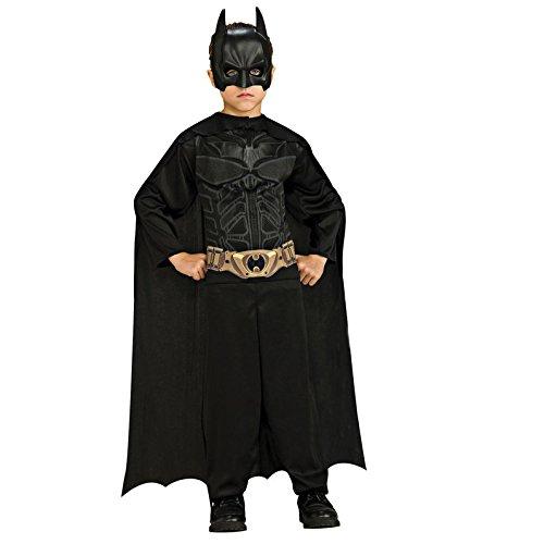 Batman Dress Up Kids (Batman: The Dark Knight Rises: Action Suit with Cape and Mask (Black))