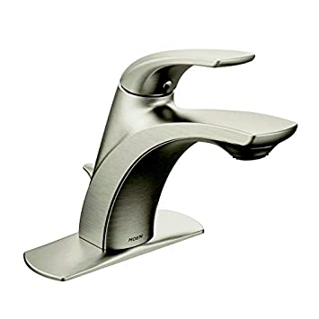 Amazon Com Moen Zarina 1 Handle Lavatory Faucet In Spot Resist