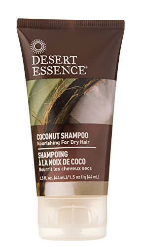 Desert Essence Nourishing Shampoo, Coconut, 1.5 Fluid Ounce ()