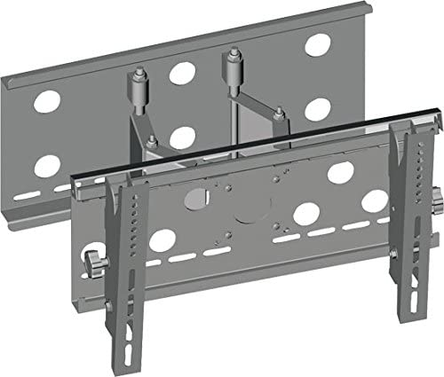 Universal Articulating TV Wall Mount – Slim Quick Install Flush Mounting Bracket for TV Monitor, Mounts 23 to 37 Inch LED, LCD, Plasma, Flat, Ultrawide Smart Television Up to 75 KG – Pyle PSPSW116S