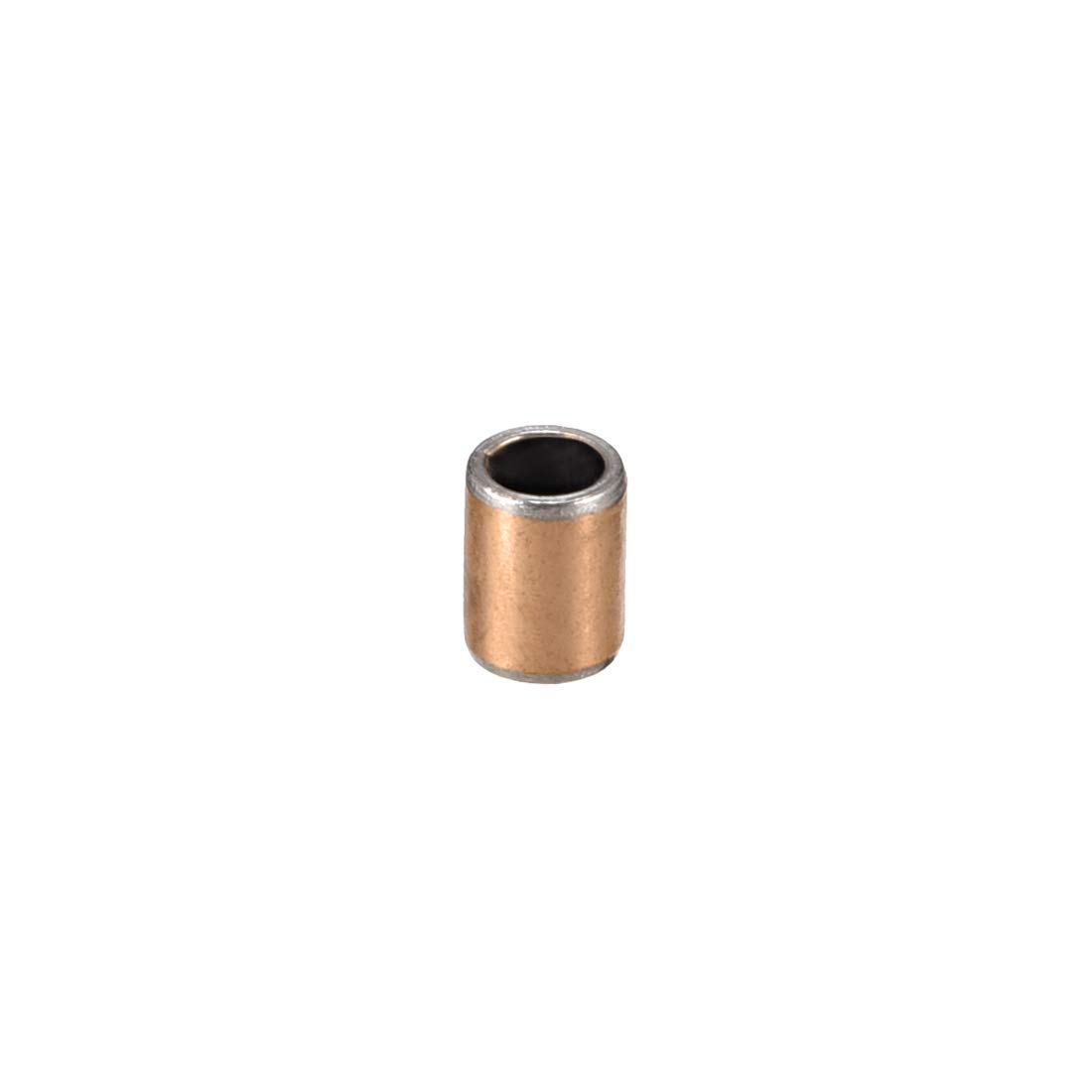 sourcing map Sleeve Bearing 3mm Bore x 5mm OD x 5mm Length Plain Bearings Wrapped Oilless Bushings Pack of 10