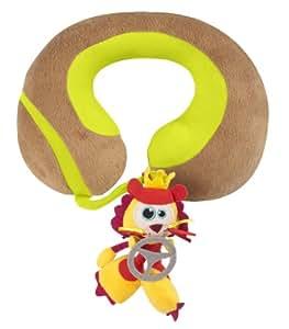 Babymoov A104708 - Cojín para el cuello con león de peluche