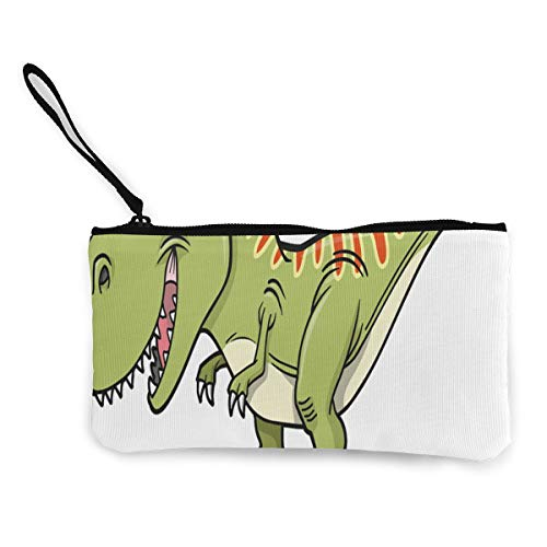 te Little Dinosaur Customs Zipper Pouch Wallet For Cash Bank Car Passport ()