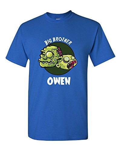 [Halloween Costume Owen Big Brother Funny Boys Personalized Gift - Kids T Shirt] (The Funniest Halloween Costumes)