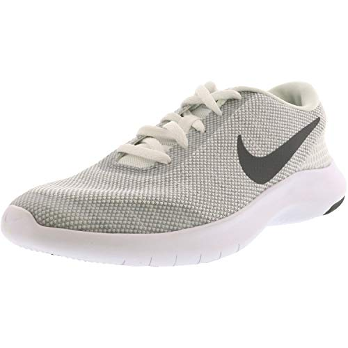 Nike Women's Flex Experience Rn 7 White/Cool Grey-Wolf Grey Ankle-High Fabric Running - 6M