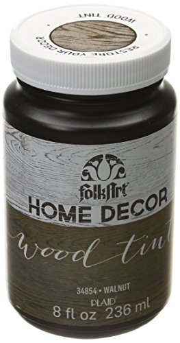 FolkArt Home Decor Wood Tint (8 Ounce), 34854 Walnut