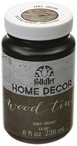FolkArt Home Decor Wood Tint (8 Ounce), 34854 Walnut - Home Folk Art
