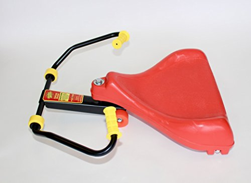 Roller Racer Red Deluxe Model is our BEST Sit-Skate Scooter ~ An Ingenious Innovation Made in USA by Mason Corporation | Completely Assembled with Enhanced Features of Sport Model