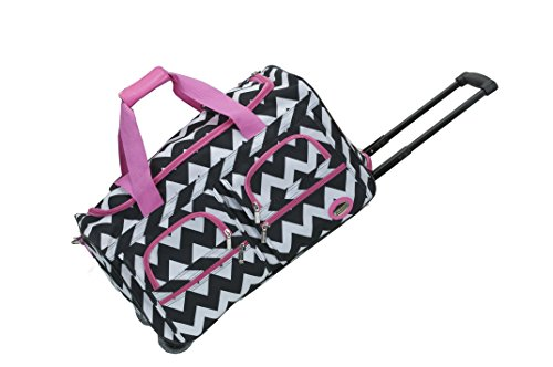 Rockland 22 Inch Carry On Rolling Duffel Bag - 3