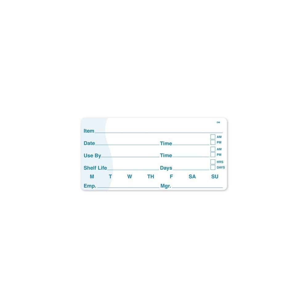 DayMark 110084 DissolveMark 2 x 4 Use By/Shelf Life Label - 125 / RL