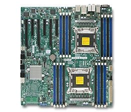 Supermicro MBD-X9DA7 Intel Dual Socket R(LGA2011) 8 SATA Ports 8 SAS via LSI 2308 Dual-Port GbE Lan NVIDIA Geforce SLI Enable Full - Lan Geforce Nvidia