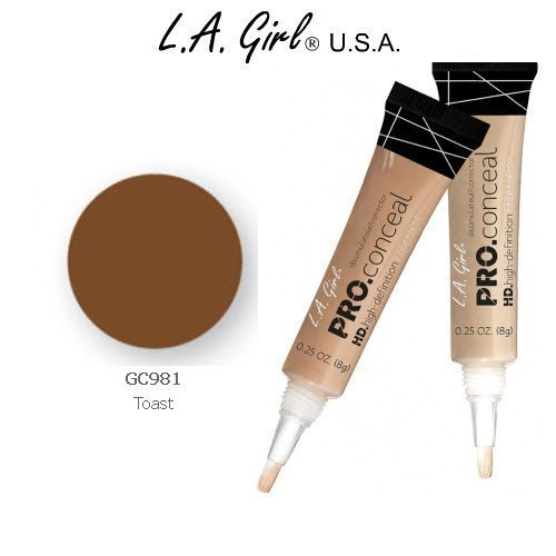 L.A. Girl Pro Conceal HD 981 Toast (2 Pack)